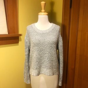 Divided   Marled Popcorn Sweater